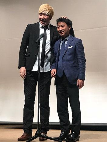 名古屋お笑い芸人 ファニーチャップ フォルムデザインコンテストで漫才