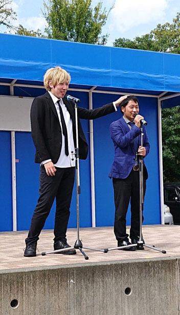 名古屋お笑い芸人 呼ぶ 呼ぶなら ファニーチャップ 中日ハウジングセンター 出張派遣 出演依頼 イベント