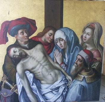 Descente de croix après restauration