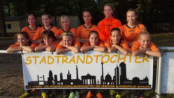 Das heutige Team hinter dem neuen Banner.