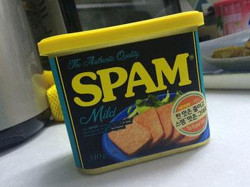 Foto mit Spam Dosenfleisch von Hormel Foods