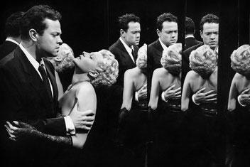 La dame de Shangaï - Rita Hayworth et Orson Wells