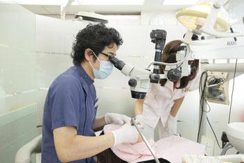 マイクロスコープ 顕微鏡 審美歯科