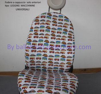 Fodere sedili auto, camper, leggins.    By ballabioiltappezziere.com