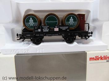 Märklin 94289 Weinfasswagen Schloss Wackerbarth Sondermodell 2007