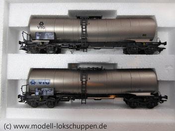 """Märklin 47523 Kesselwagen-Set VTG """"Rotterdam"""", Ep. V"""