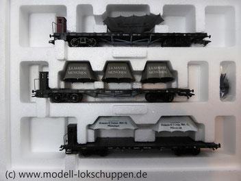 Märklin 46283 Wagen-Set ´Lokomotivfabriken´ 3-teilig