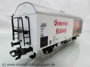 Fleischmann 845326 Sonderwagen Modellbahnausstellung 2004: Bier Kühlwagen Severins-Kölsch der DB