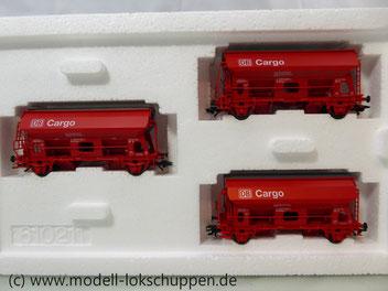 Märklin 46300 Schwenkdachwagen-Set der DB AG Cargo