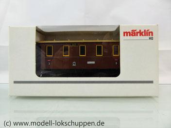 Märklin 94172 Nebenbahn Personenwagen der K.P.E.V  Ep.1 Limitiertes Sondermodell