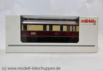 """Limitiertes Sondermodell (2005)   Exklusivausführung zum 5. Modellbahn Treff in Göppingen 2005. Zuglaufschild """"Sonderfahrt Nördlingen - Göppingen"""""""