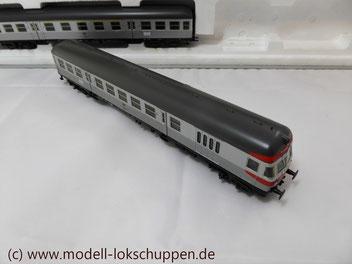 """BR 140 DB Wendezug im Nahverkehr """"Silberlinge"""" / Märklin 26511"""