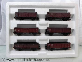 Märklin 46021 Güterwagenset Die junge Bahn / 6 offene Güterwagen