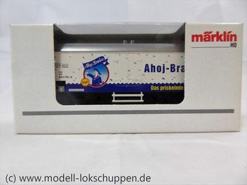 Märklin 44182 / Kühlwagen Ahoj Brause Frigeo-Werke GmbH, Remshalden