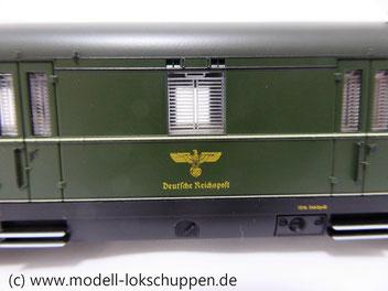 Märklin 43266  Postwagen Post4ü, DRG, Ep. II