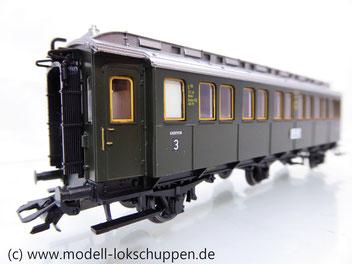 TRIX 23325  DRG II C3ü bay  Schnellzugwagen  3. Klasse (3-achsig)