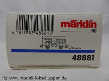 Märklin 48881  Viehwagen der DB  Epoche 3