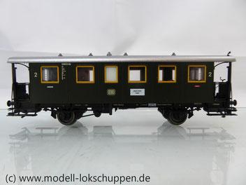 Märklin 43010 Nebenbahnwagen 2Kl. DB Epoche 3 grün H0