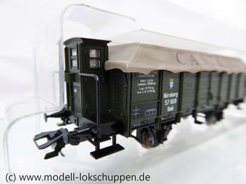 Trix 24311 K.Bay.Sts.B. Mittelbordwagen-Set FABER CASTELL und LKW
