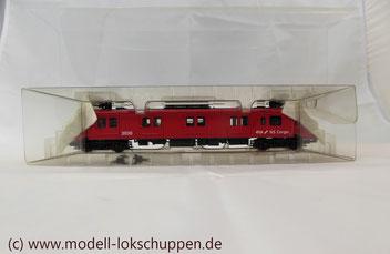 Märklin Digital 37892 - Triebwagen Serie 3000 - Elektrischer Gepäck-Triebwagen - Digital