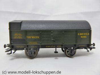 Märklin 45094  Torf-Munitionswagen (Mittelbordwagen)  K.Bay.Sts.B., Ep.I