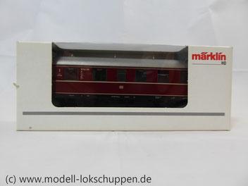 Märklin 43351 / Einheitsnebenbahnwagen ABie-34 der DB 1. und 2. Klasse.
