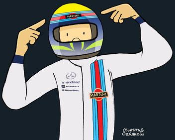 Felipe Massa by Muneta & Cerracín
