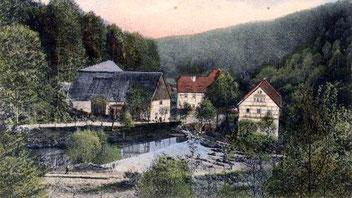 Die Buschmühle im Wesenitztal