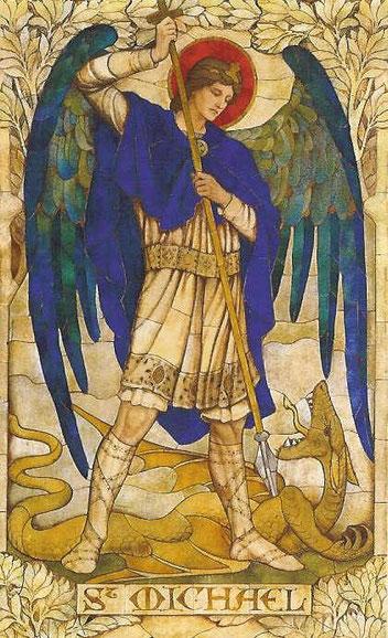 大天使ミカエルを待ち受け画像にする