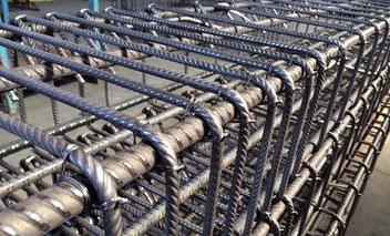 armatura metallica del calcestruzzo armato