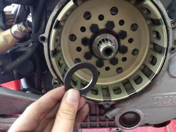 Ducati Antihopping Kupplung mit Kupplungskorb und Kupplungsbelägen NEU