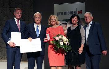 v.l.: Thomas Stelzer, Werner und Karin Schöny, Birgit Gerstorfer, Josef Pühringer / Fotos: rubra