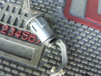 Drivers door cylinder