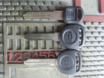 Chevy key blanks