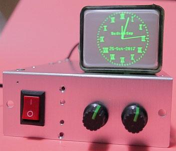 6LO1i XYスコープ自作 + オシロスコープ時計キット製作