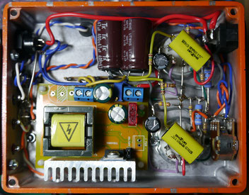 DC-DC Boost Converter 8-32V to 45-390V High Voltage - PCL82(16A8) SE Tube Amp ミニワッター真空管アンプ