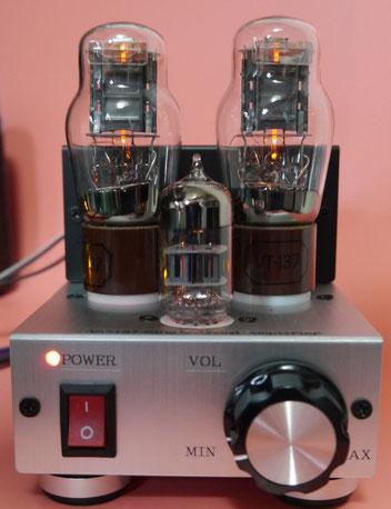 1626(VT-137)Single Ended Amplifier  1626(VT-137)小型真空管シングルアンプ自作