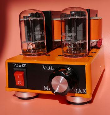 10GF7A シングルミニアンプ自作 DIY-Audio 10GF7A SE AMP-mini Tube Amplifier 小型真空管オーディオアンプ自作