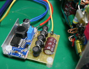 XL6009 + Six-Stage SEPIC Multiplied Boost Converter 12V to 200V