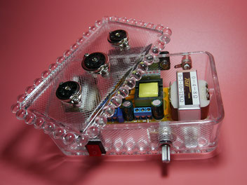 6AU6 Glass AMP 6AU6魅惑の真空管ミニオーディオアンプ