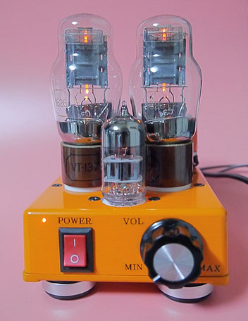 1626(VT-137)シングルアンプ自作 DIY-Audio 1626(VT-137) Single-Ended(SE) vacuum tube stereo amplifier