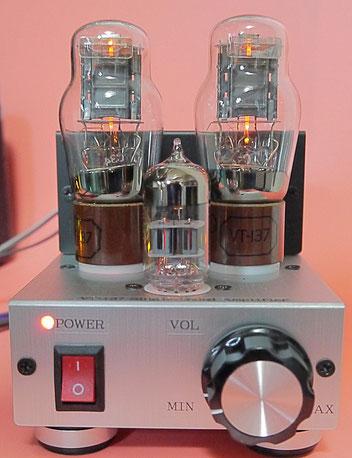 DIY-Audio 1626 (VT-137) Single-Ended (SE) mini Tube Amplifier 1626 真空管ステレオシングルミニアンプ自作