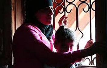 Adelina und ihre Sohn Mustafa