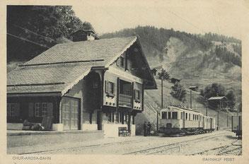 A. Reinhardt Chur, gestempelt 01. August 1919
