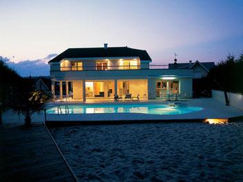 Schwimmbecken Standort, Pool Standort, Garten, Haus