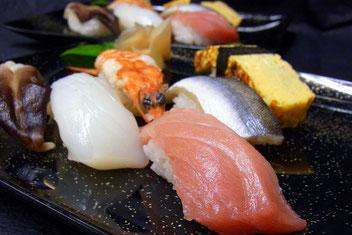寿司menu