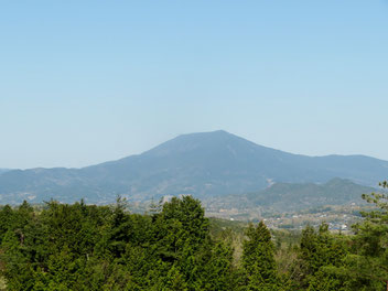 恵那の笠置山。