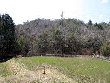 下川口の高圧鉄塔。