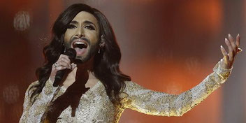 Conchita Wurst, gagnant de l'Eurovision 2014