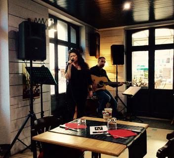 Duo chanteuse jazz